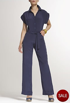 Navy catsuit in the style of Lily Allen - couldn't find a purple catsuit